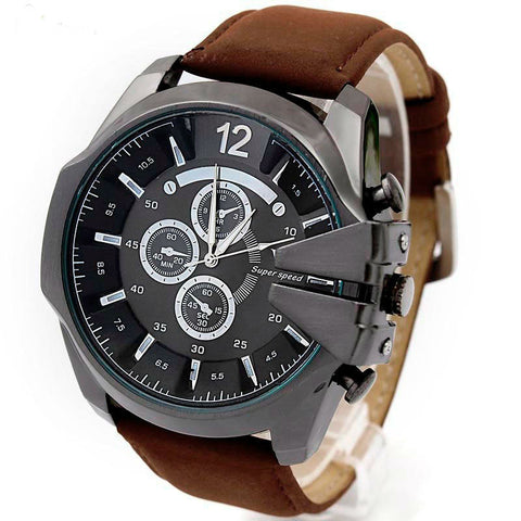 Steel Case Sport Analog Men's Watch - UYL Online Store