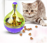 Interactive Cat Ball Toy Food Dispenser