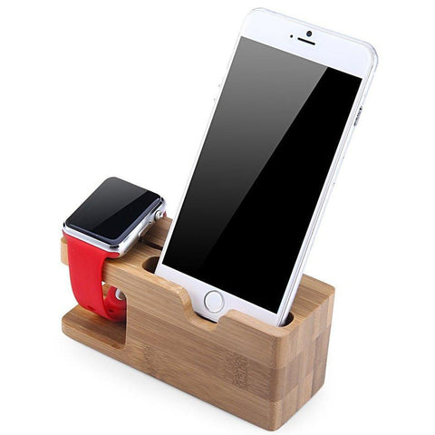 Bamboo Cutout Charging Station