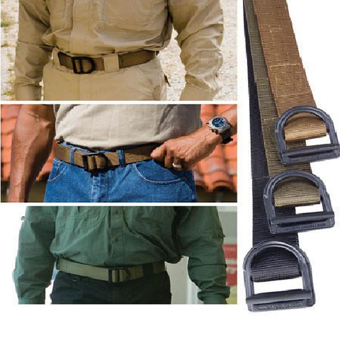 Adjustable Outdoor Military Men's Canvas Tactical Belt - UYL Online Store