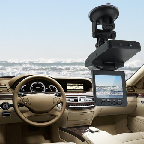 Car DVR Recorder With HD   Infrared Night Vision 2.5