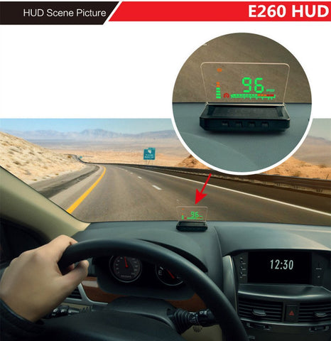 Car Head-Up Display Auto HUD Projector with Vehicle Speeding Warning - UYL Online Store