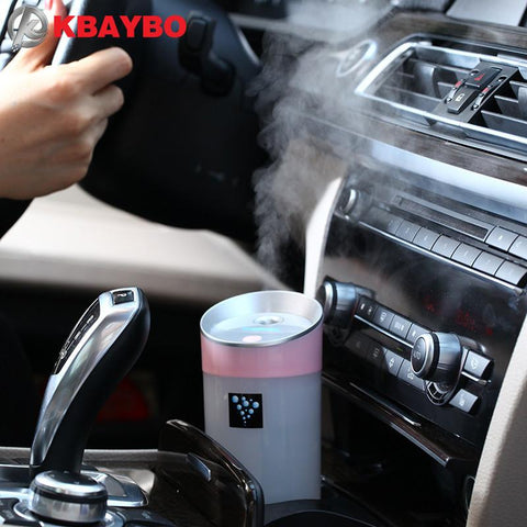 Car Humidifier USB Aromatherapy Essential Oil Diffuser