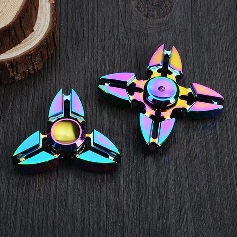 Colorful Finger Tri-spinner Fidget Hand Spinner