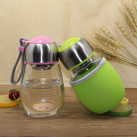 Tea Infuser Glass Bottle/Mug - UYL Online Store