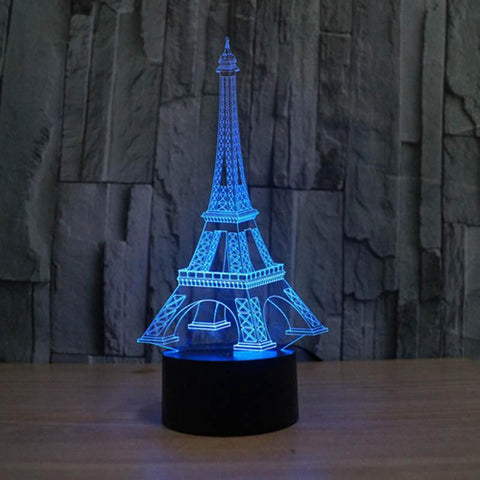 Creative Eiffel Tower LED 3D Night Light - UYL Online Store