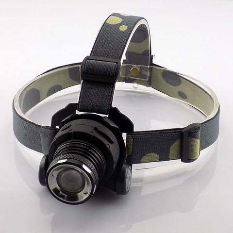 Headlamp Head Light with Built-in Li-ion Rechargeable Frontal Flashlight Led Head Torch Lamp - UYL Online Store