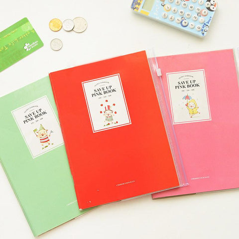 Cute Mini Pig Save Up Accounts Record Daily Notebook Planner - UYL Online Store