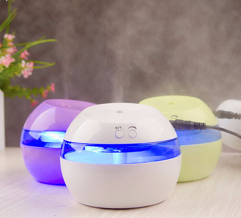 Ultrasonic LED Light Air Aroma Humidifier