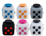 Desk Toy Fidget Cube Relieves Anxiety and Stress Juguete For Adults Squeeze Fun anti Stress Fidget Cube Desk Spin Toys