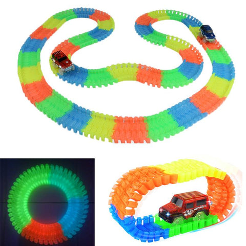 Glowing Car Racing Set for Kids - UYL Online Store