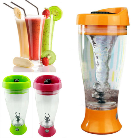 Electric Protein Shaker and Mixer Bottle