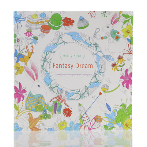 Fantasy Dream English Edition Coloring Book For Children and Adult - UYL Online Store