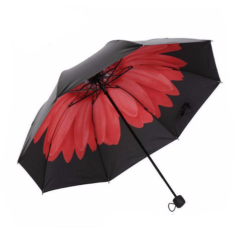 High Quality 3-fold flower Anti-UV Umbrella - UYL Online Store