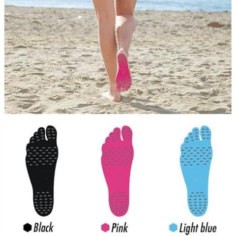 Waterproof Hypoallergenic Sticker Shoes Soles Sticky Pads Adhesive Foot Pad