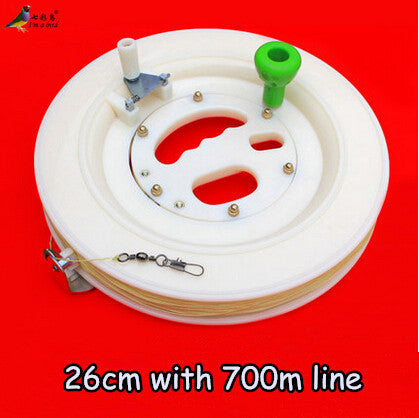 High-Quality 26cm ABS Kite White Wheel