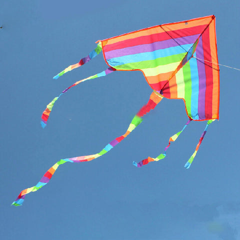 Triangle Color Kite With Handle - UYL Online Store