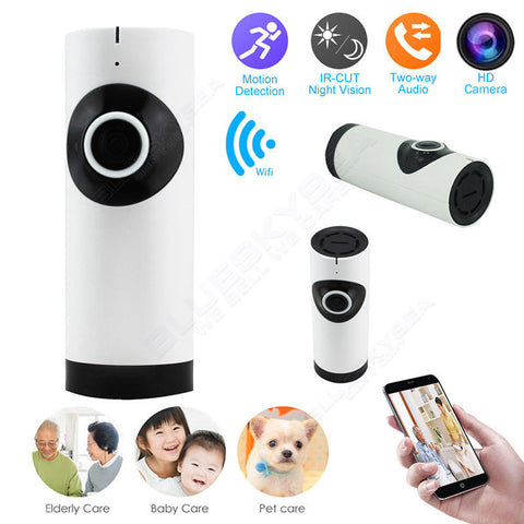 Wireless Wifi HD IP Camera Webcam Baby Monitor Two-Way Audio Home Surveillance