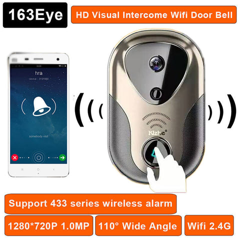Wireless WiFi Remote Video Doorbell Monitor Intercom for Phone or Tablet - UYL Online Store