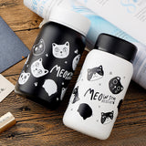 Stainless Steel Cat Cartoon Design Thermos Vacuum Flask - UYL Online Store