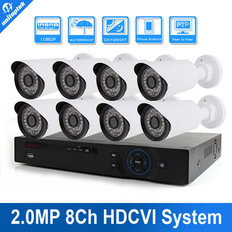 Security  Camera System HD 1080P IR 8CH