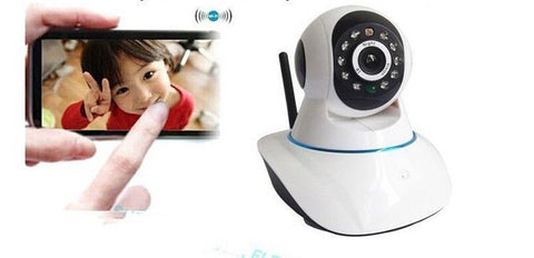 Wireless Pan/Tilt IP Camera DVR WiFi Smartphone IR-Cut DVR Baby Monitor