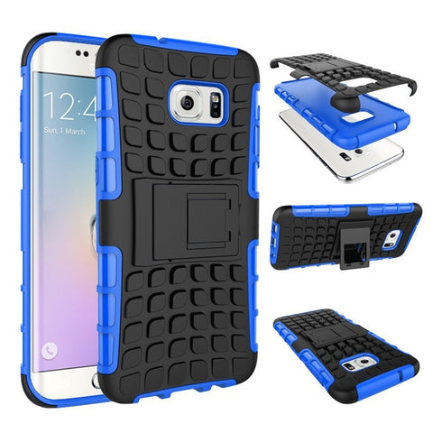 Heavy Duty Hybrid Stand Case For Samsung