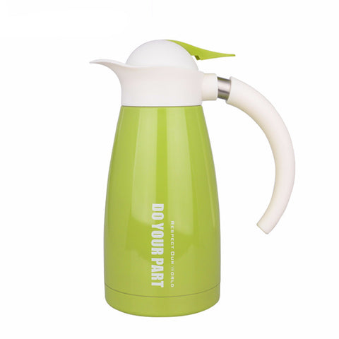 Stainless Steel Insulated Vacuum Coffee Pot Hot Water Thermos - UYL Online Store