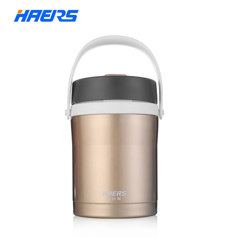 Stainless Steel Insulated Thermal Lunch Box with Spoon Thermos Bento with Food Containers