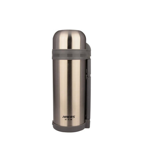 Stainless Steel Thermos Flask with Hand Grip