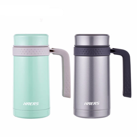 Stainless Steel Coffee Mug Vacuum Insulated Thermos Mug With Handle