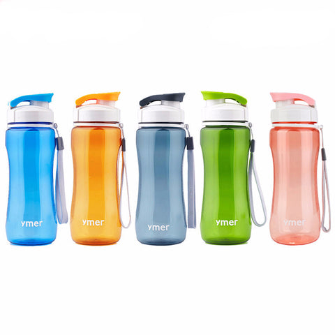 Simple Sports Healthy Water Bottle for Travel/Hiking/Running/Cycling - 560mL