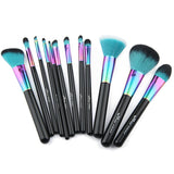 High Quality Copper 12 pcs Makeup Brush Set - UYL Online Store