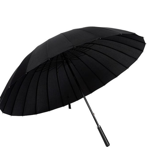High-Quality Large Solid Color Long Handle Straight Umbrella - UYL Online Store