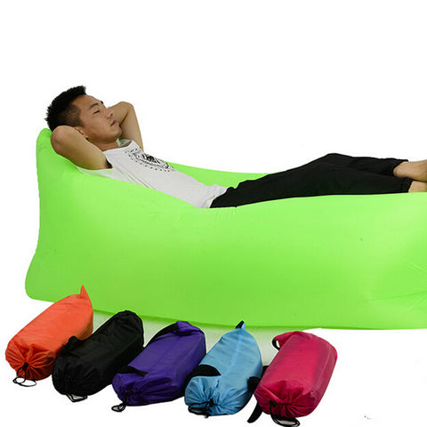 Outdoor Portable Fast Inflatable Cushion Sofa Bed - UYL Online Store