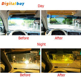 HD Car Sun Visor Goggles For Driver Day & Night Anti-dazzle Mirror Sun Visors Clear View Dazzling Goggles Eyes Protector - UYL Online Store