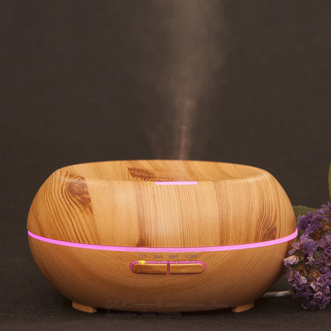 Elegant Wooden Essential Oil Diffuser Humidifier - UYL Online Store
