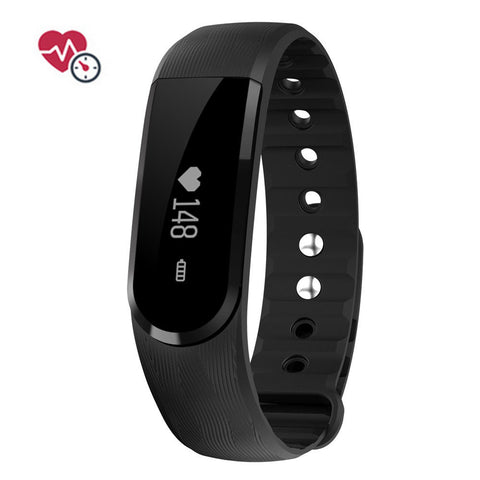 Smart Bracelet Sports Band Fitness Tracker with Bluetooth 4.0 and Heart Rate Monitor for Android iOS - UYL Online Store