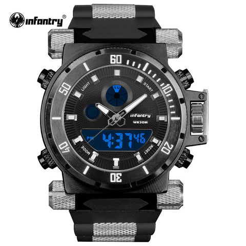 INFANTRY Digital Quartz Watch - UYL Online Store
