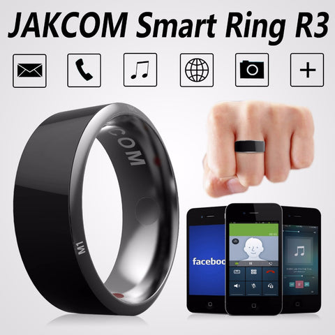 Jakcom R3 Waterproof Smart Ring App Enabled Wearable Technology Magic Ring For iOS Android Windows NFC Smartphones
