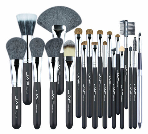 JAF Studio 20 Pcs/Set Makup Brushes Premium Natural