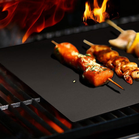 Non-Stick Barbecue Grill Mat Sheet