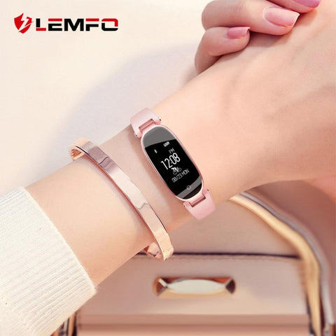 Waterproof Smart Watch Women Wristbands Fitness Bracelet Heart Rate Monitor For both IOS and Android