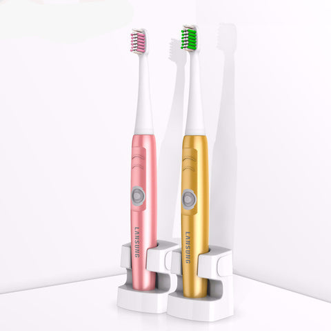 Waterproof Electric Toothbrush With 3 Heads