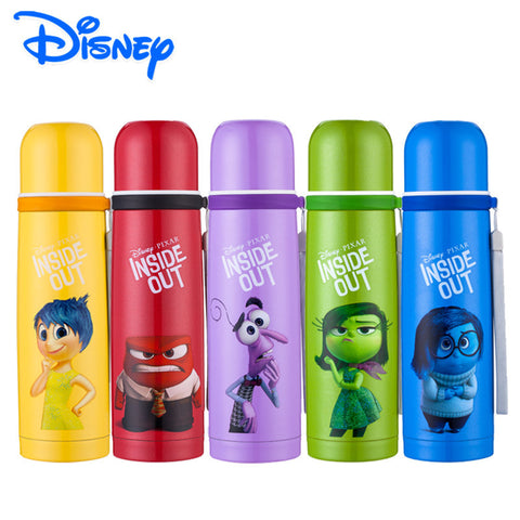 Inside Out Disney 500ml Thermos 304 Stainless Steel Vacuum Flask Water Bottle