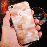 Luxury Hard Marble Plastic Phone Case For iPhone 7 - UYL Online Store