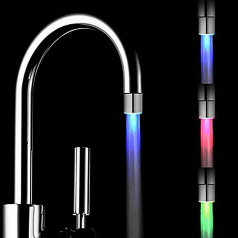Magic 3 color LED Light Water Faucet