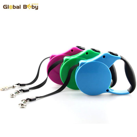 Retractable Dog Leash ABS Extending Pet Walking Leads