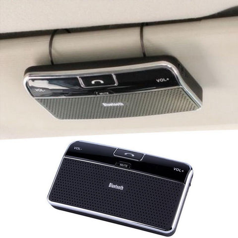 Bluetooth Handsfree Car Kit Speakerphone - Sun Visor Clip