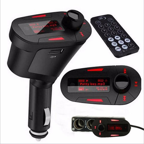 Bluetooth Hands Free kit and FM Modulator with Remote